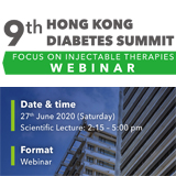 9th Hong Kong Diabetes Summit Webinar